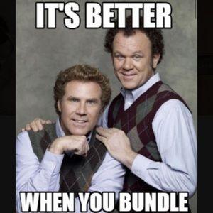 I like bundles, do you like bundles? 15% off 3!